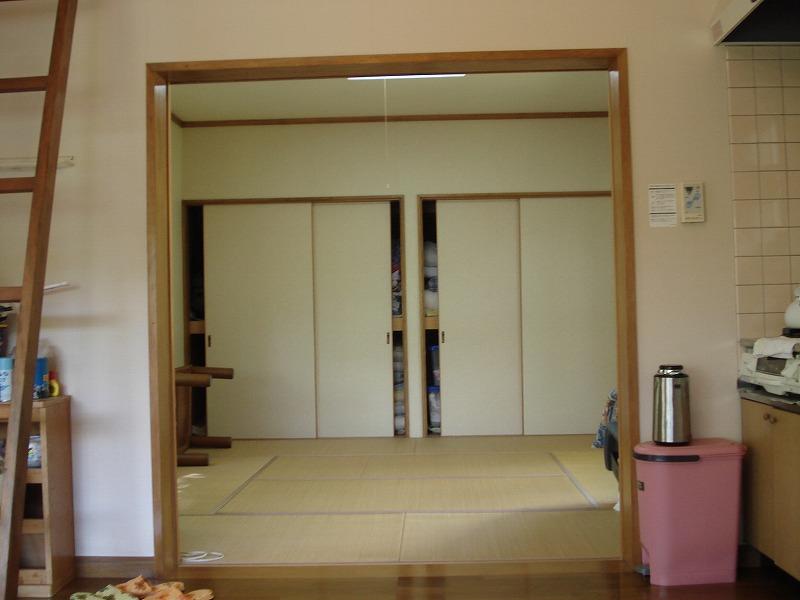 リビングの続き間 和室8帖