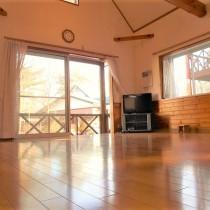 【仲介手数料なし】西那須野IC近くの静かな別荘地。2001年建築の1LDK!!【那須別荘400万円以下】